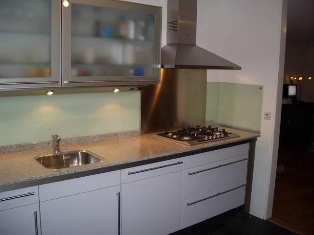Glazen keuken achterwanden Brandvertragende beglazing Hard glazen ...
